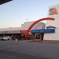 Photo taken at TravelCenters of America by Dallas S. on 8/4/2012