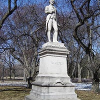 Photo taken at Alexander Hamilton Statue by HISTORY on 7/12/2012