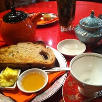 Photo taken at T2 Tea House by Kumiko M. on 2/19/2012