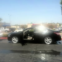 Photo taken at National City Car Wash by Anthony O. on 4/28/2012
