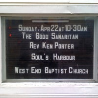 Photo taken at West End Baptist Church by Michelle P. on 4/22/2012