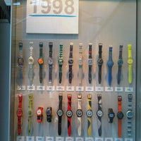 Photo taken at Swatch Permanent Exhibition by Melanie R. on 8/27/2012