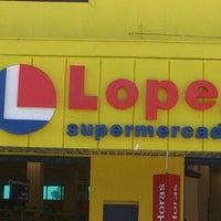 Photo taken at Supermercado Lopes by Eveston P. on 7/1/2012