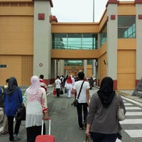 Photo taken at Sultan Ismail Petra Airport (KBR) by Fadhlan G. on 8/17/2012