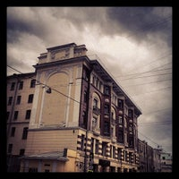 Photo taken at Улица Большая Дмитровка by Daniel L. on 5/23/2012