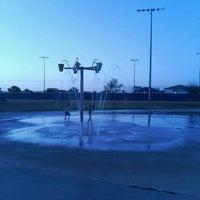 Photo taken at Fort Sam Houston MWR Splashpad by Robert H. on 8/4/2011