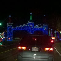 Photo taken at Tanglewood Festival of Lights by Tamara H. on 12/31/2011