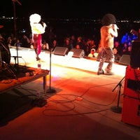 Photo taken at The Stage @ Balloon Fiesta Park by Marlon L. on 10/9/2011