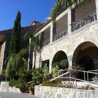 Photo taken at Hotel Parador de Málaga Gibralfaro by Sonia G. on 10/14/2011