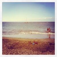 Photo taken at Playa de Torviscas by Raúl B. on 1/8/2012