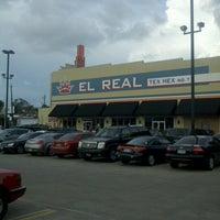 Photo taken at El Real Tex-Mex Cafe by Rubix R. on 6/18/2012
