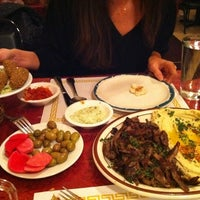 Photo taken at Old Jerusalem Restaurant by Benjamin C. on 2/4/2012