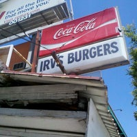 Photo taken at Irv's Burgers by Ahmad on 5/14/2012