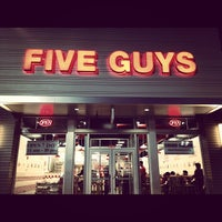 Photo taken at Five Guys by David C. on 3/9/2012