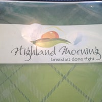 Photo taken at Highland Morning by Joe R. on 5/7/2012
