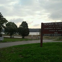 Photo taken at Hoover Reservoir Park by Andi S. on 10/14/2011