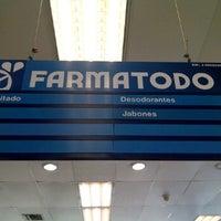 Photo taken at Farmatodo by Carlos B. on 7/22/2011