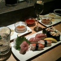 Photo taken at Sushi Sasa by Erik Z. on 7/4/2012