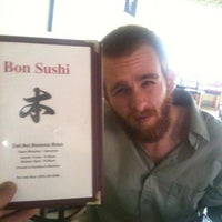 Photo taken at Bon Sushi by Peter. G. on 9/29/2011