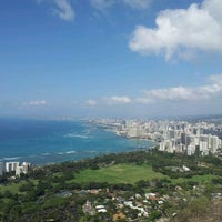 Photo taken at Diamond Head State Monument by Drew C. on 1/19/2012