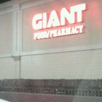 Photo taken at Giant Food Store by Briona G. on 11/9/2011
