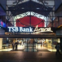 Photo taken at TSB Bank Arena by michael r. on 4/13/2012