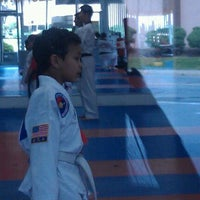 Photo taken at W.S. Jeung Taekwondo by Jennifer M. on 4/30/2012