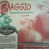 Photo taken at Baggio Pizzeria & Focacceria by Emerson on 6/10/2012