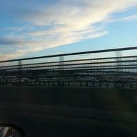 Photo taken at Queensborough Bridge by BeA K. on 9/2/2012