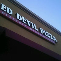 Photo taken at Red Devil Pizza by Sal T. on 4/22/2012