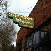 Photo taken at Stumptown Coffee Roasters by Amanda C. on 2/26/2012