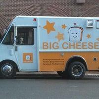 Photo taken at Big Cheese Truck by Matt D. on 1/27/2012