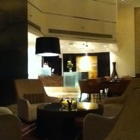 Photo taken at Towers Rotana Hotel by YumiYumi on 2/1/2012