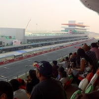 Photo taken at Buddh International Circuit by Manav on 10/30/2011