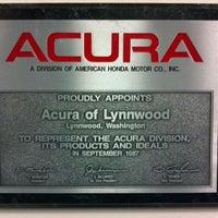 Photo taken at Acura Of Lynnwood by Scott C. on 11/8/2011