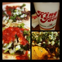 Photo taken at King Taco by Esther S. on 6/5/2012