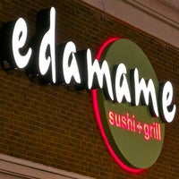 Photo taken at Edamame Sushi & Grill by Chris O. on 4/24/2012