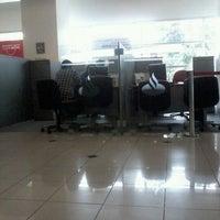 Photo taken at Banco Santander by Tomas Ignacio C. on 3/16/2012
