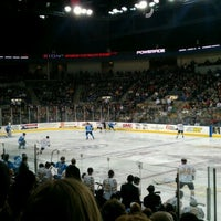 Photo taken at Rushmore Plaza Civic Center Ice Arena by Jarrod P. on 11/26/2011