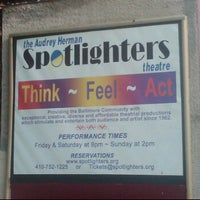 Photo taken at Spotlighters Theatre by Fuzz R. on 6/25/2011