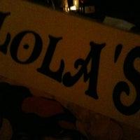 Photo taken at Lola Tapas & Wine Bar by jon a. on 11/12/2011