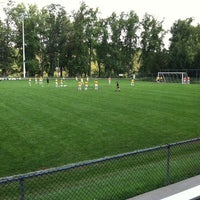 Photo taken at Barclay-Thomsen Field (Denison University) by Mitch on 9/11/2011