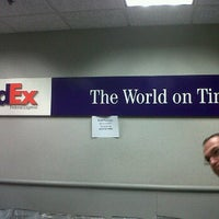 Photo taken at FedEx Ship Center by ShopSaveSequins on 11/19/2011