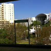 Photo taken at MDT Metrorail - Dadeland North Station by Frank M. on 4/11/2011