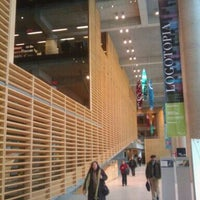 Photo taken at Bibliothèque et Archives nationales du Québec (Grande Bibliothèque) by Wesley E. on 1/4/2011