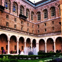 Photo taken at Boston Public Library by Kayti L. on 8/6/2012