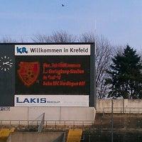 Photo taken at Grotenburg-Stadion by Samla Fotoagentur w. on 12/11/2011