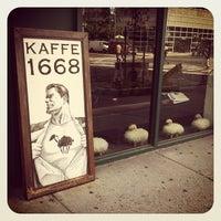Photo taken at Kaffe 1668 by Carl M. on 8/8/2012