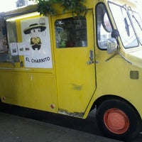 Photo taken at El Charrito Taco Truck by Tom M. on 8/24/2011