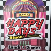 Photo taken at Happy Days Diner by Leslie M. on 7/28/2012
